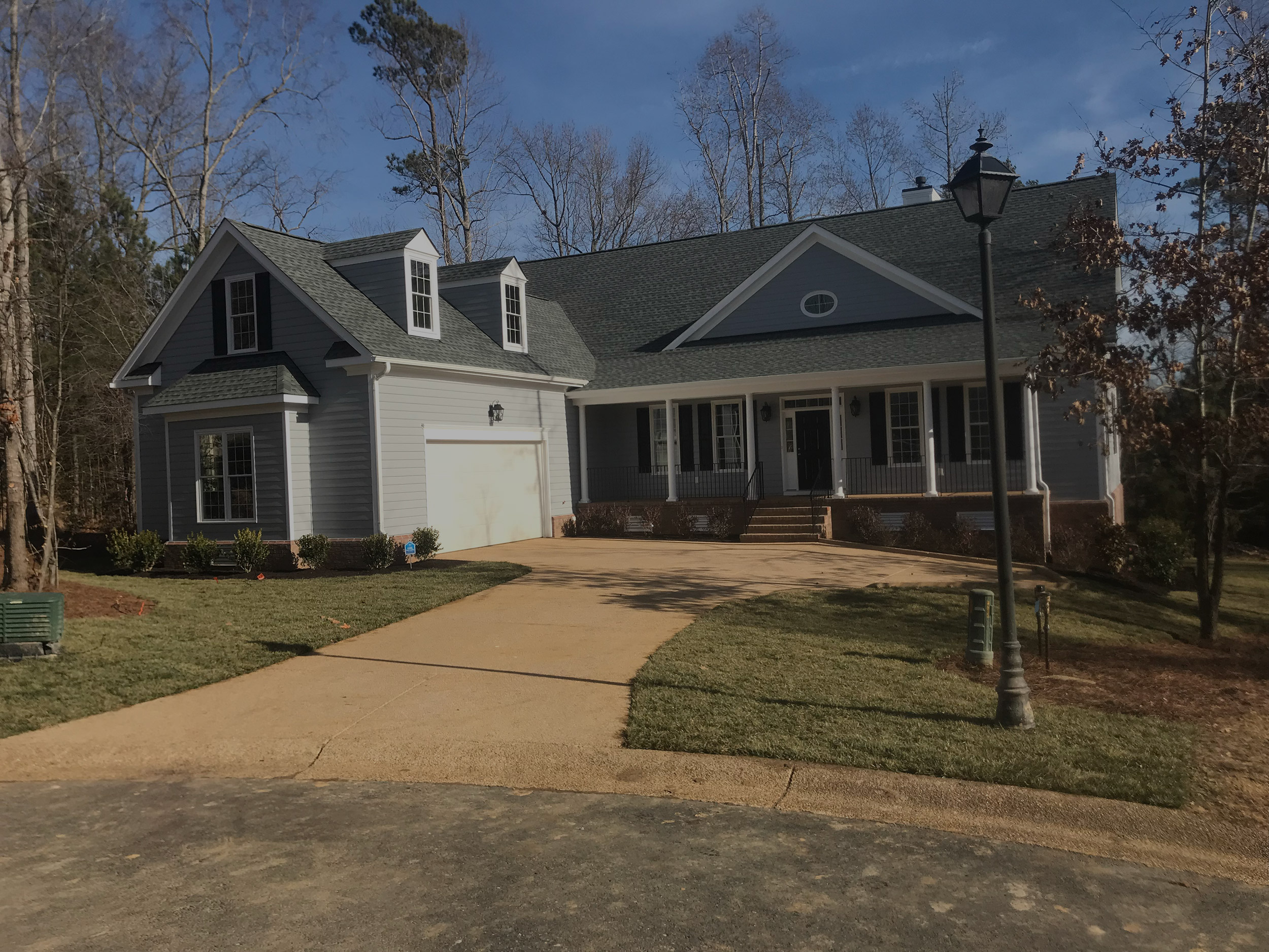 New House Construction, Williamsburg, Virginia