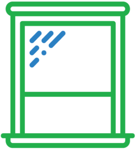 Window and Door Replacement Icon