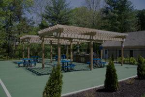 Trellis Construction for Community Area