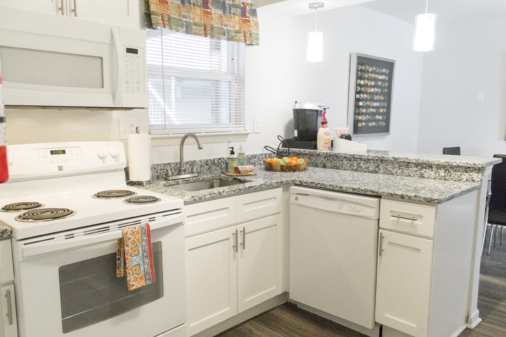 Multi Family Kitchen Counter Renovation in Newport News, Virginia