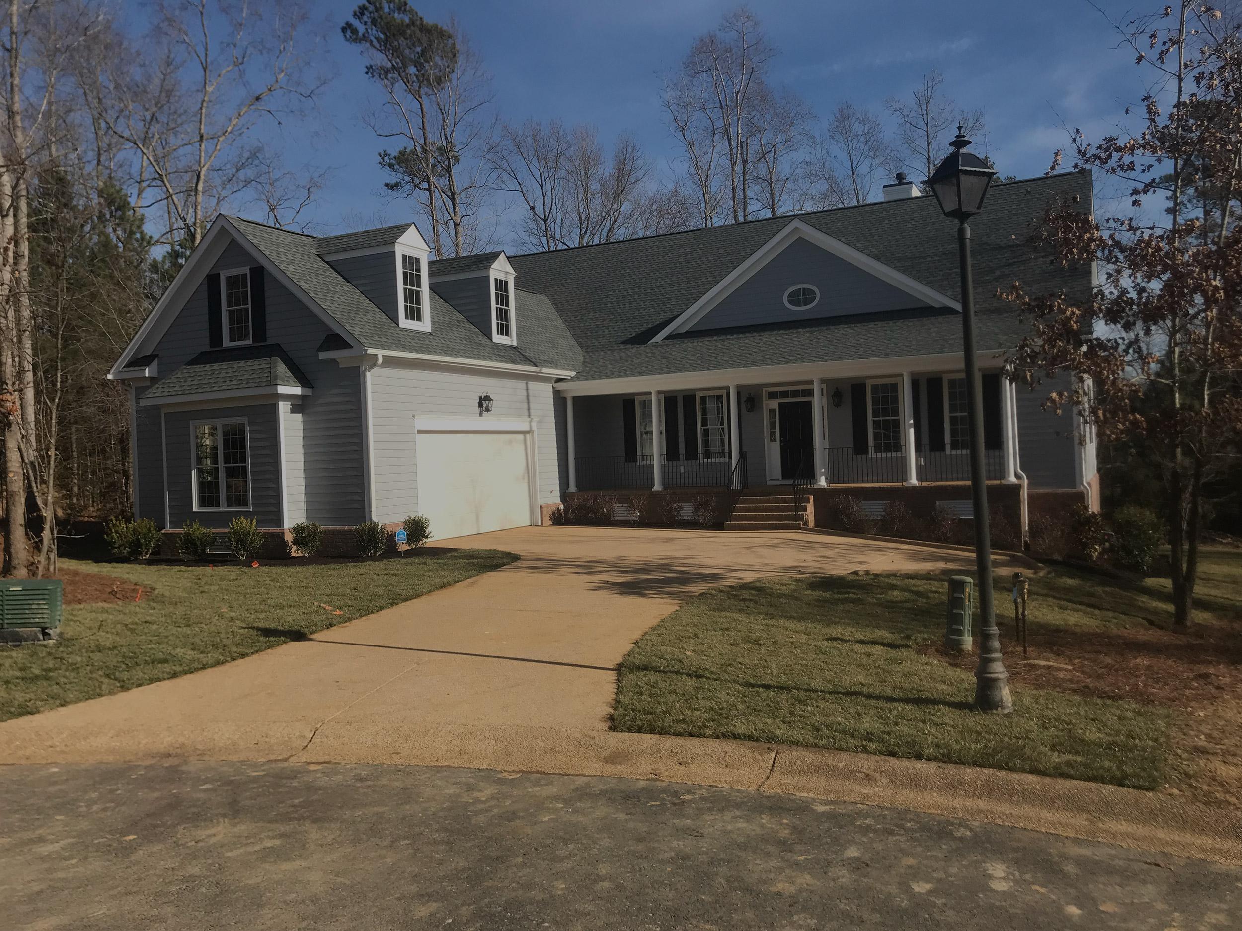 New House Construction, Williamsburg, Virginia